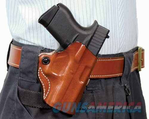 Desantis Mini Scabbard Holster - Rh Owb Leather Glock 48 Tan  Guns > Pistols > 1911 Pistol Copies (non-Colt)
