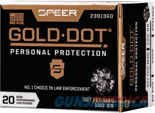 Speer Ammo Gold Dot, Speer 23913gd Gold Dot 327fed 100 Hp         20-10  Guns > Pistols > 1911 Pistol Copies (non-Colt)