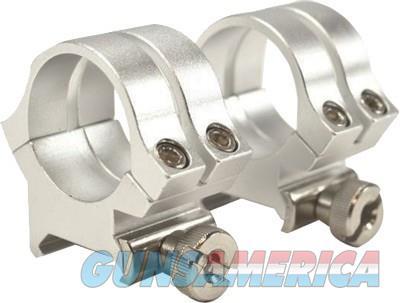 Weaver Rings Detachable Quad- - Lock 1 Medium Silver .169  Guns > Pistols > 1911 Pistol Copies (non-Colt)