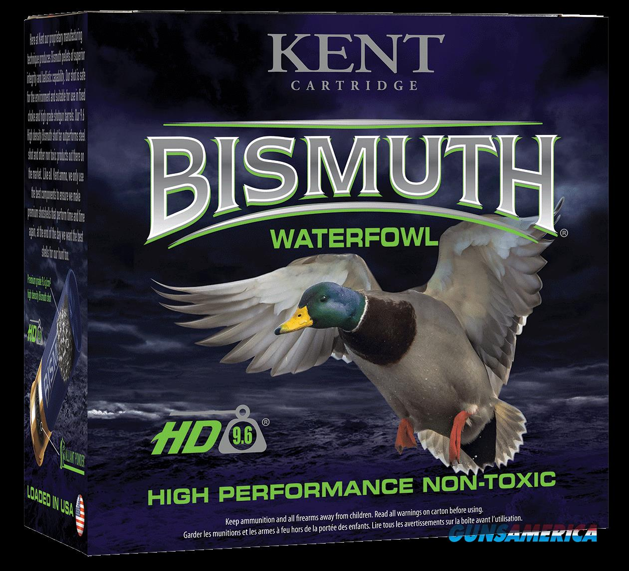 Kent Cartridge Bismuth, Kent B12w364    2.75  11-4 Bismt Waterfowl   25-10  Guns > Pistols > 1911 Pistol Copies (non-Colt)