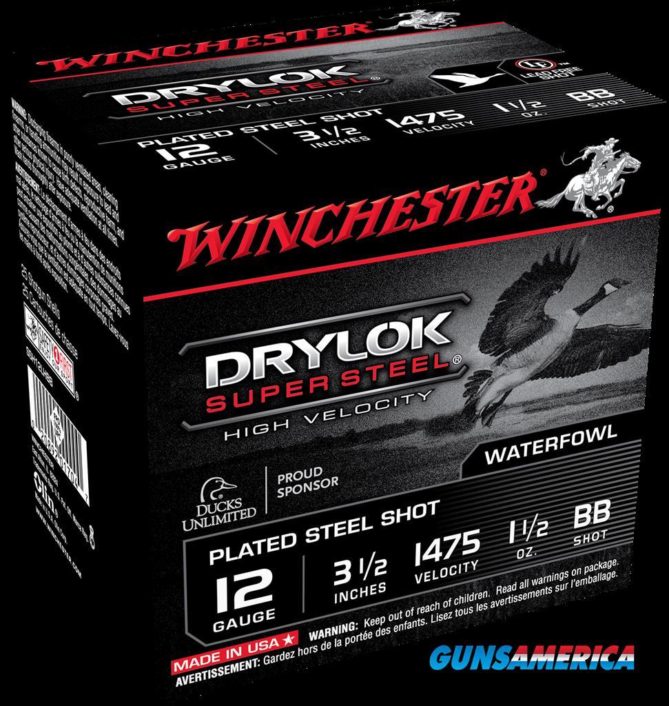 Winchester Ammo Drylock Super Steel, Win Ssh12lhbb  Supreme Hv    Stl  25-10  Guns > Pistols > 1911 Pistol Copies (non-Colt)