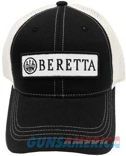 Beretta Cap Trucker W-patch - Cotton Mesh Back Black  Guns > Pistols > 1911 Pistol Copies (non-Colt)