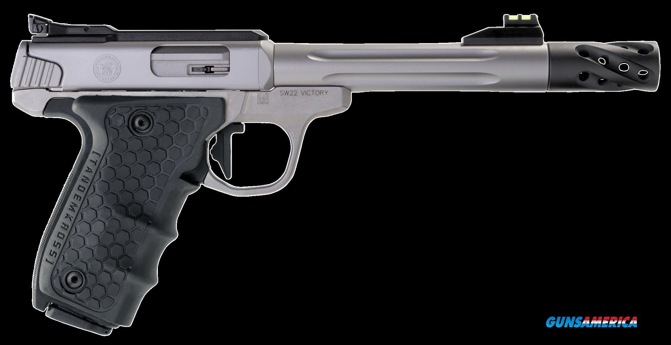 Smith & Wesson Performance Center, S&w Victory    12078  Pfmc 22lr 6in Trt Mb     Ss  Guns > Pistols > 1911 Pistol Copies (non-Colt)