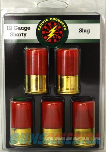 Exotic Shorty Slug 12 Ga 1 3-4 - 1 Oz. Slug 1175fps 5-pk  Guns > Pistols > 1911 Pistol Copies (non-Colt)