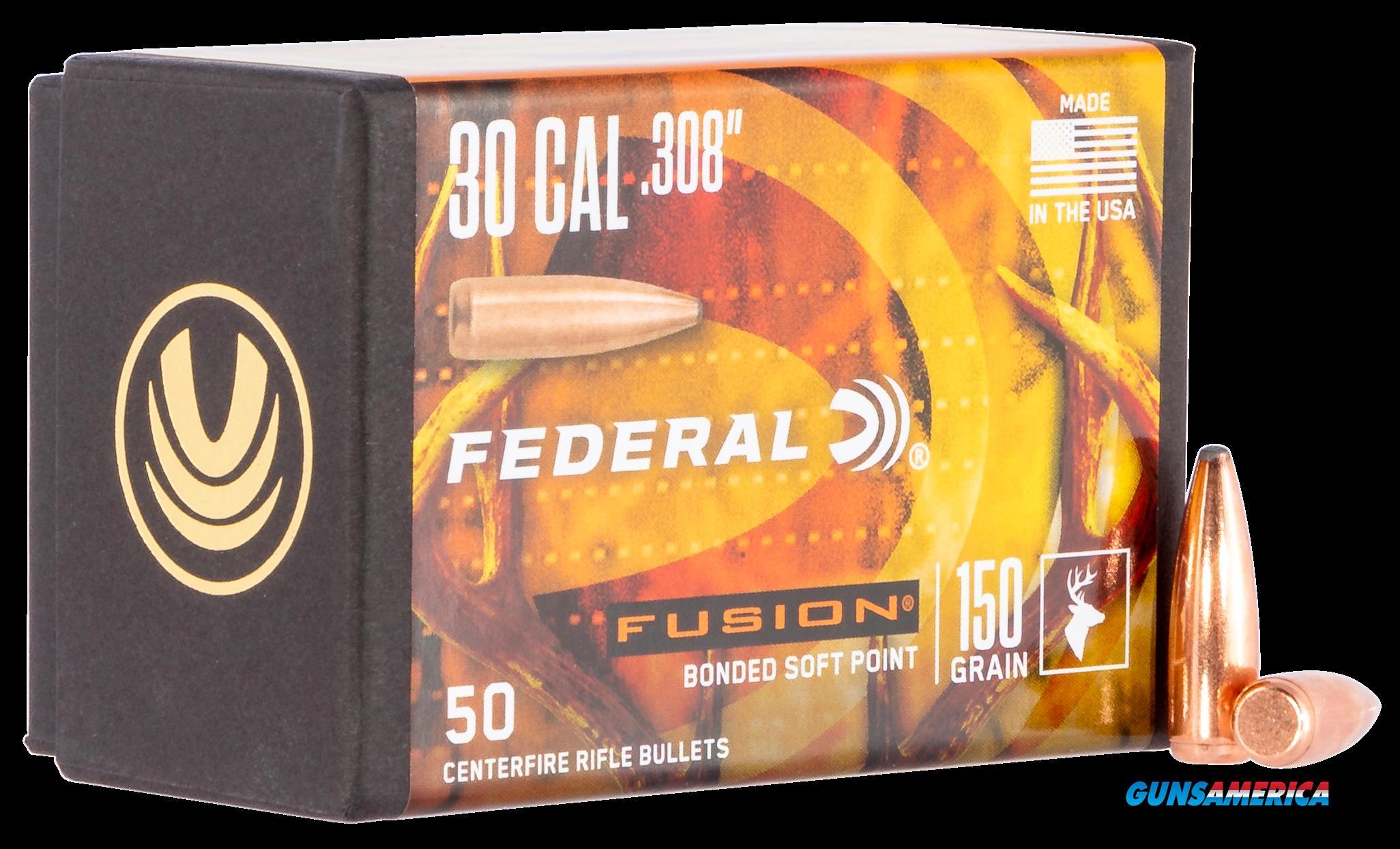 Federal Fusion Component, Fed Fb308f1     Bull .308 150fus        50-4  Guns > Pistols > 1911 Pistol Copies (non-Colt)