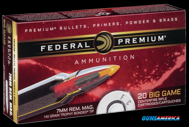 Federal Premium, Fed P7rtt2     7mm Mg  140 Tb               20-10  Guns > Pistols > 1911 Pistol Copies (non-Colt)