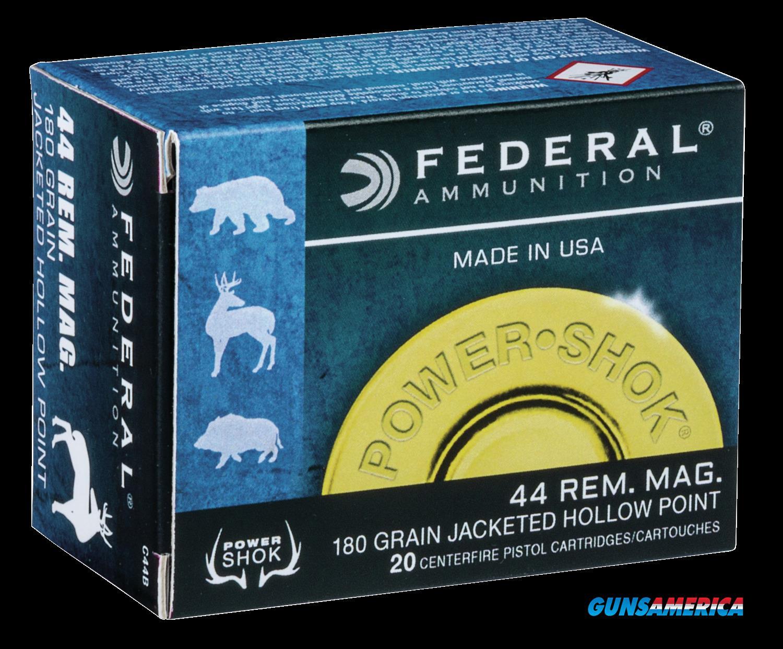 Federal Power-shok, Fed C44b       44mg      180 Jhp          20-25  Guns > Pistols > 1911 Pistol Copies (non-Colt)