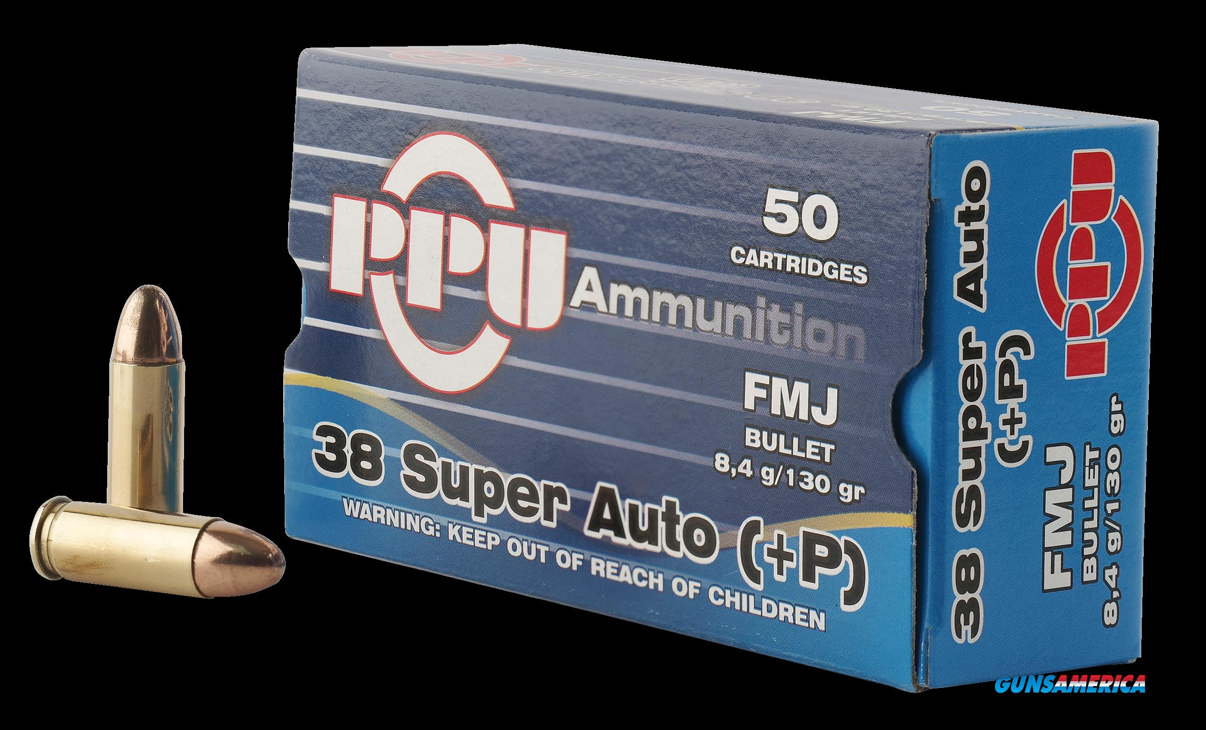 Ppu Handgun, Ppu Pph38su     38sup+p     130 Fmj          50-10  Guns > Pistols > 1911 Pistol Copies (non-Colt)