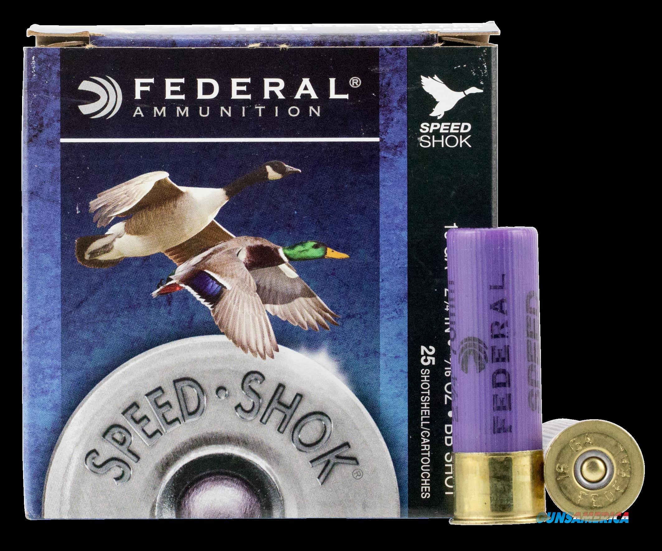 Federal Speed-shok, Fed Wf168bb       Spdshk 16    15-16     25-10 Stl  Guns > Pistols > 1911 Pistol Copies (non-Colt)