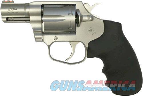Colt Cobra .38spl+p Fs 2.1 - S-s Matte Rubber Black  Guns > Pistols > 1911 Pistol Copies (non-Colt)