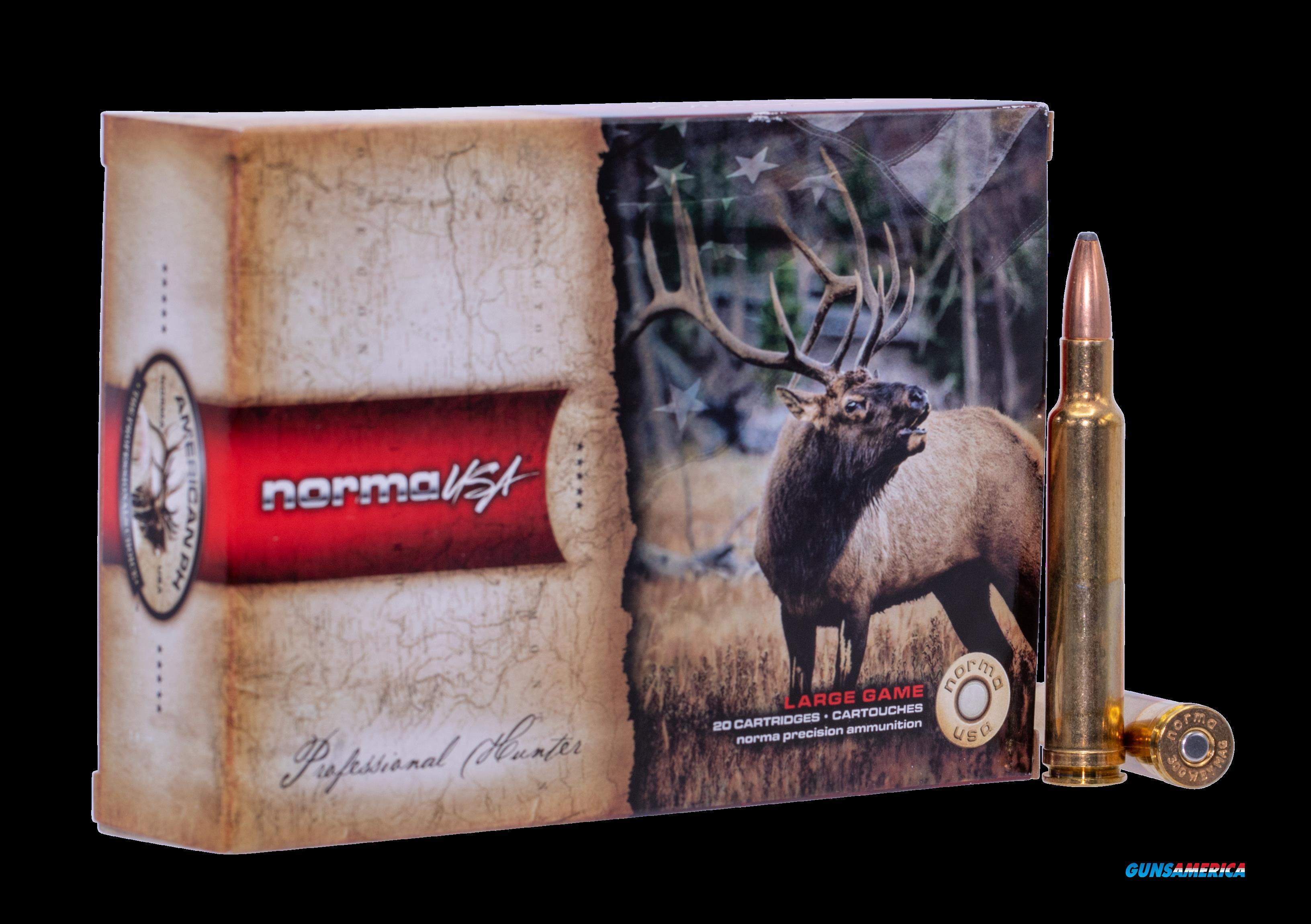 Norma Ammunition (ruag) American Ph, Norma 20174632  300 Wby        165 Oryx      20-10  Guns > Pistols > 1911 Pistol Copies (non-Colt)