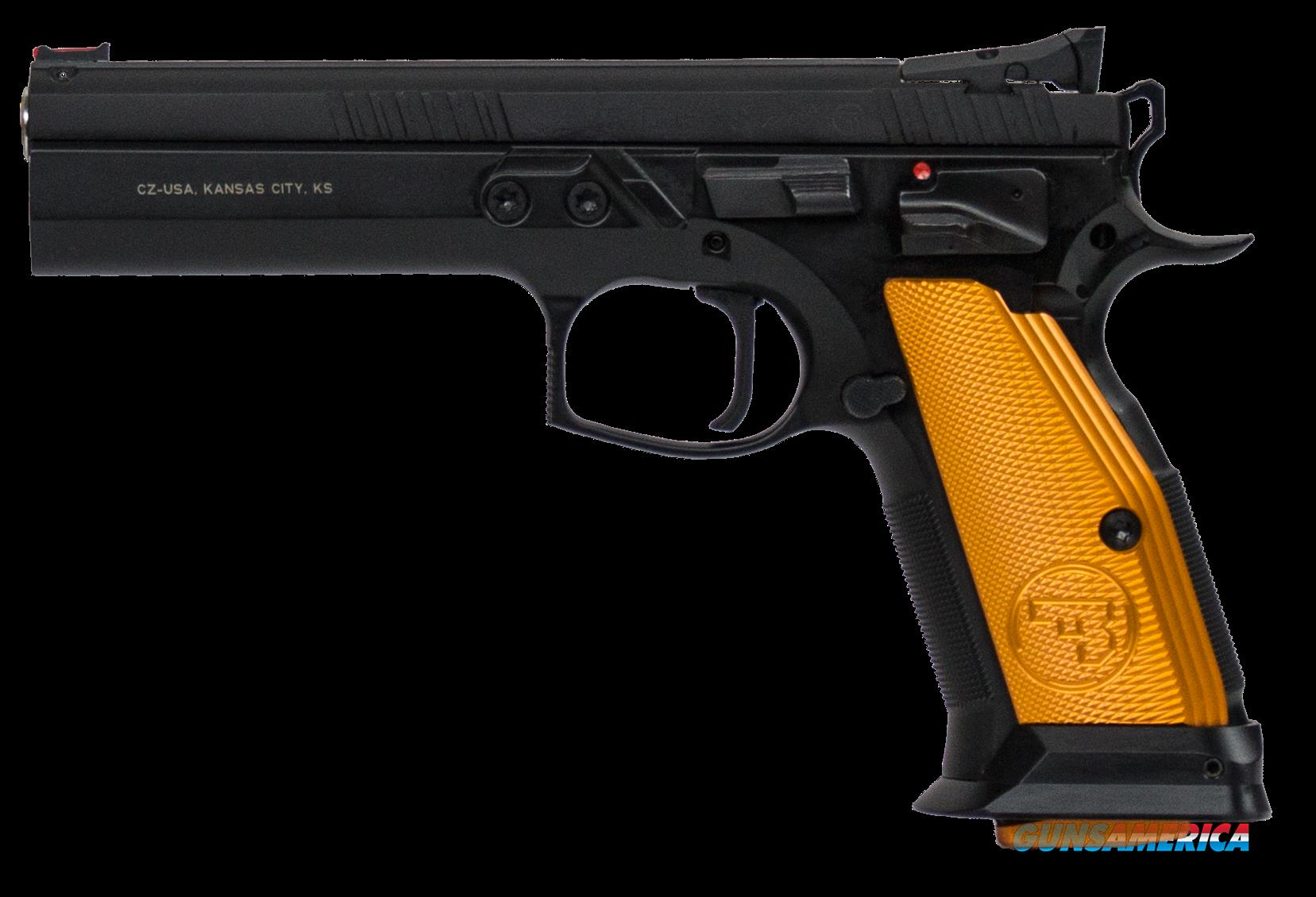 Cz Cz 75, Cz 91260 Cz75 Ts Orange 40sw               17rd  Guns > Pistols > 1911 Pistol Copies (non-Colt)