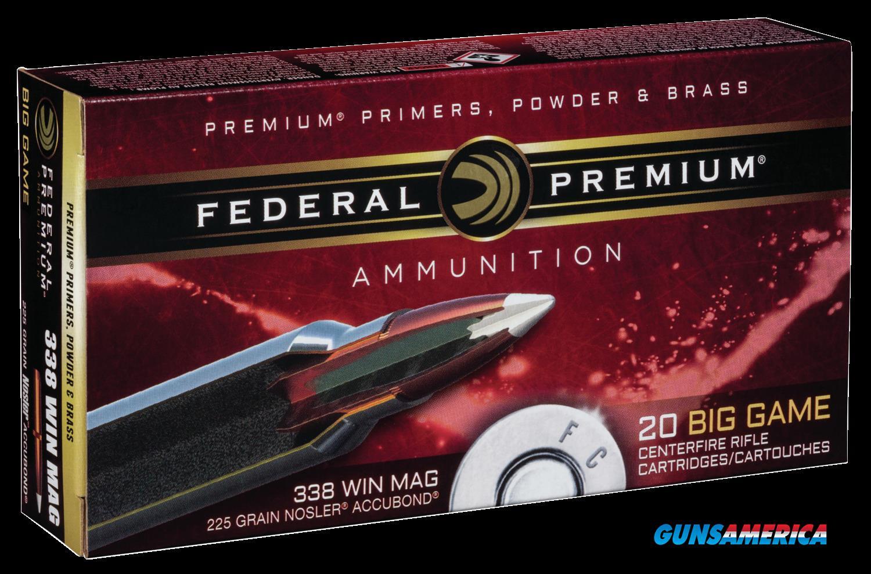 Federal Premium, Fed P338a1     338mg   225 Ab               20-10  Guns > Pistols > 1911 Pistol Copies (non-Colt)