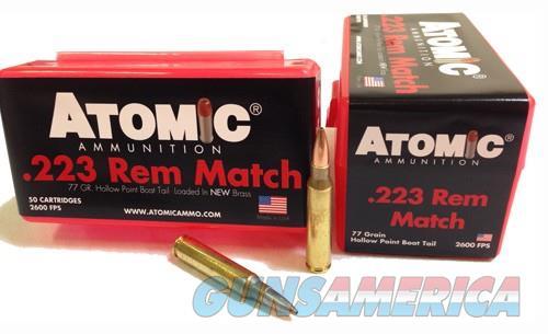 Atomic Ammo .223 Rem. Match - 77gr. Sierra Bthp 50-pack  Guns > Pistols > 1911 Pistol Copies (non-Colt)