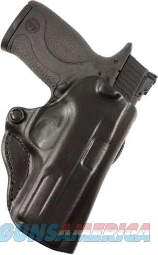 Desantis Mini Scabbard Holster - Rh Owb Leather 1911 3-3.5 Blk  Guns > Pistols > 1911 Pistol Copies (non-Colt)