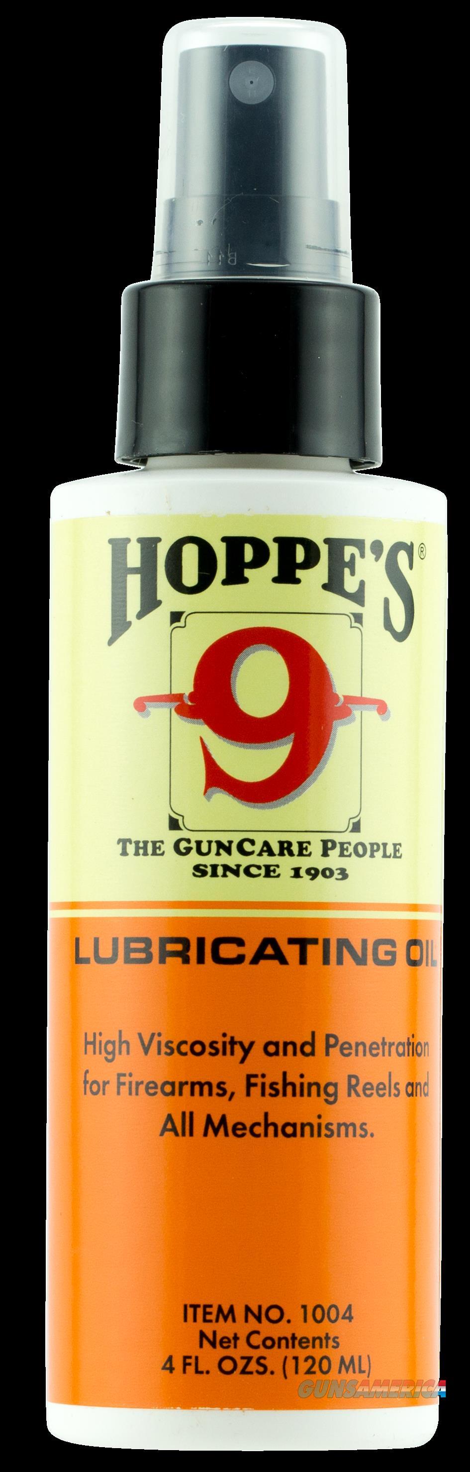Hoppes Lubricating Oil, Hop 1004  Lubricating Oil 4oz Pump  Guns > Pistols > 1911 Pistol Copies (non-Colt)