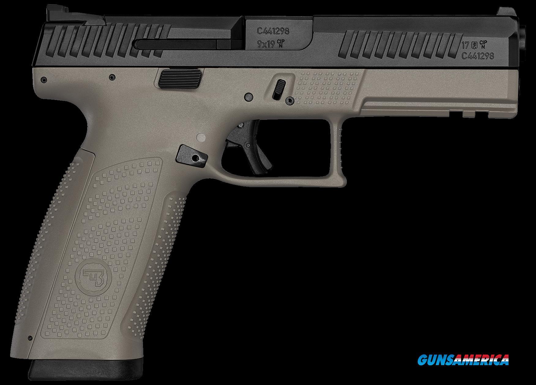 Cz P-10, Cz 01541 P10 F 9mm Fde-blk Ns                 10rd  Guns > Pistols > 1911 Pistol Copies (non-Colt)