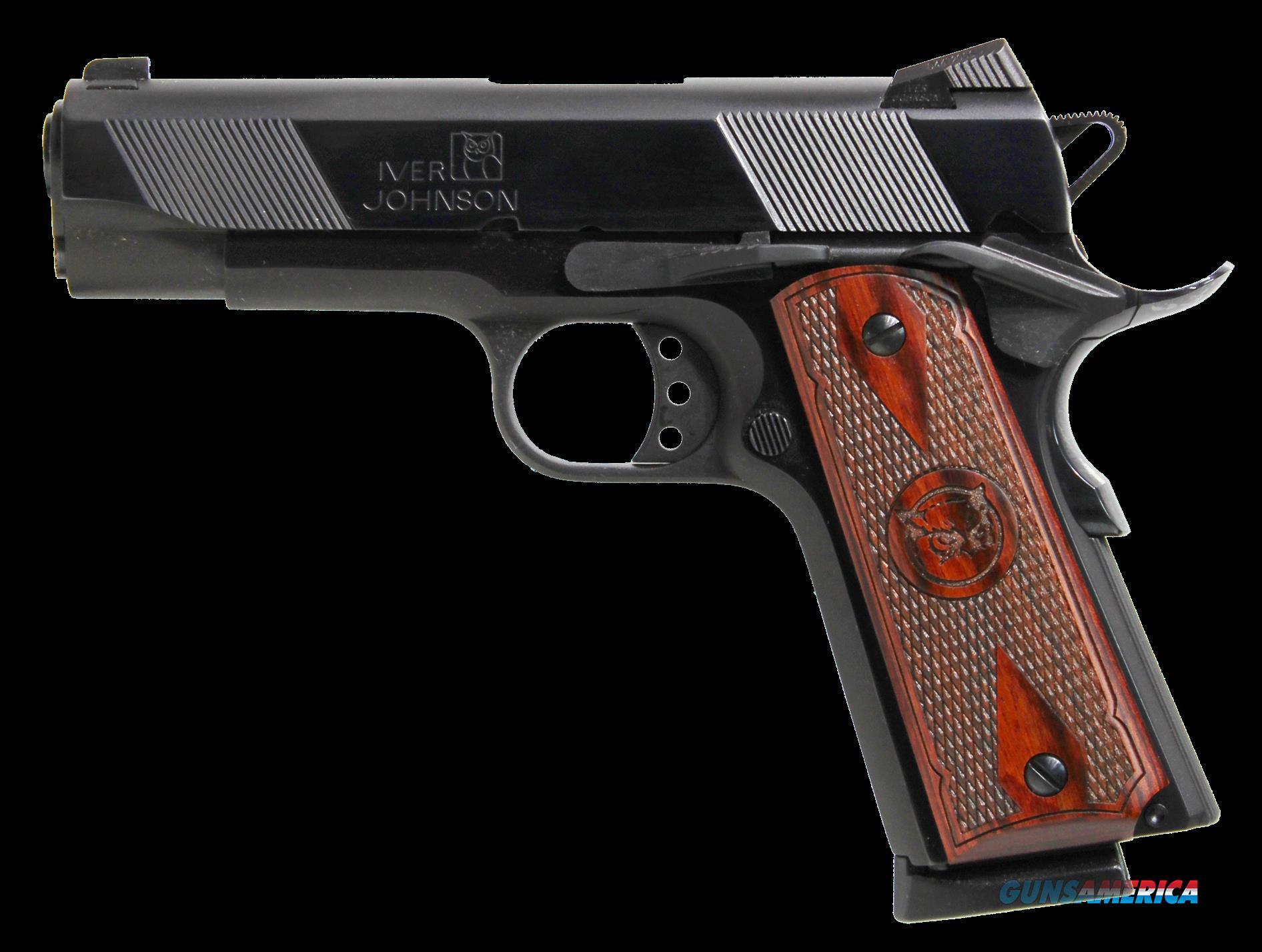 Oaks Wholesale Dist-iver 1911 Hawk, Iver Hawk          45     4.25 Cmmndr Lomnt Pol Bl  Guns > Pistols > 1911 Pistol Copies (non-Colt)