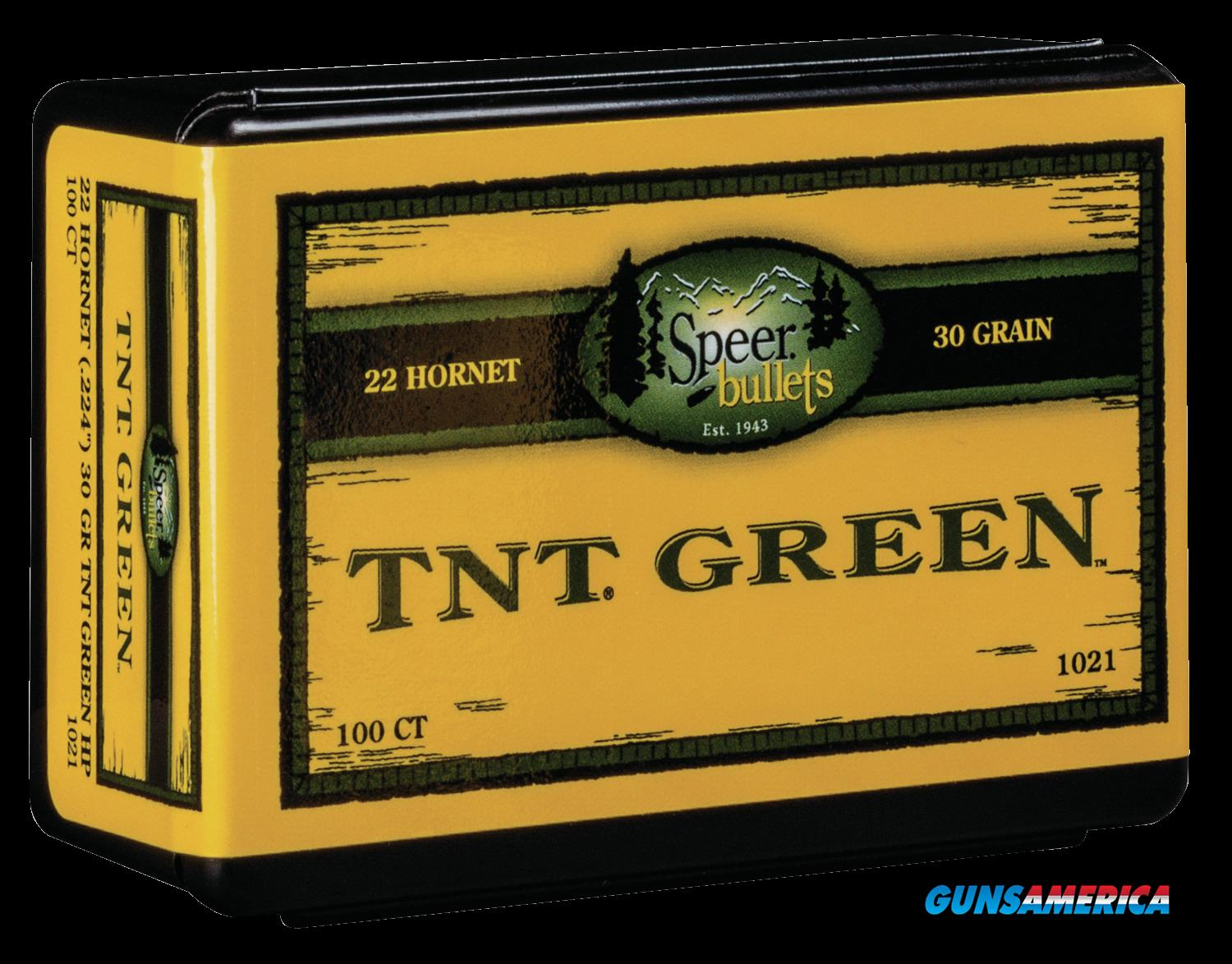 Speer Bullets Tnt Green, Speer 1021 Bull .224  30 Tntgrn    100  Guns > Pistols > 1911 Pistol Copies (non-Colt)
