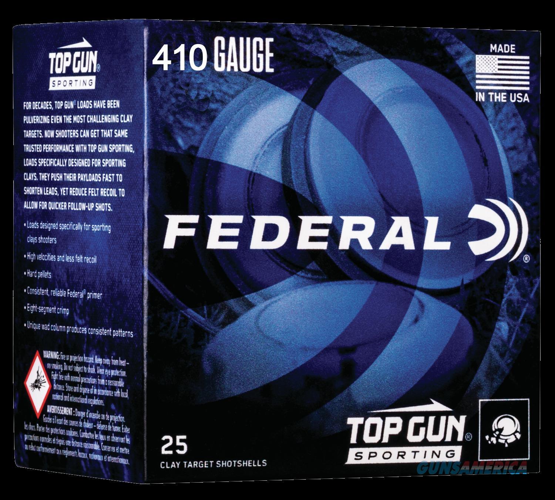 Federal Top Gun, Fed Tgs412149 Top Gun  410 2.75  1-2      25-10  Guns > Pistols > 1911 Pistol Copies (non-Colt)
