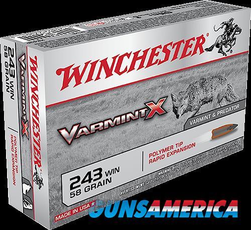 Winchester Ammo Varmint X, Win X243p         243    58vrmt  20-10  Guns > Pistols > 1911 Pistol Copies (non-Colt)