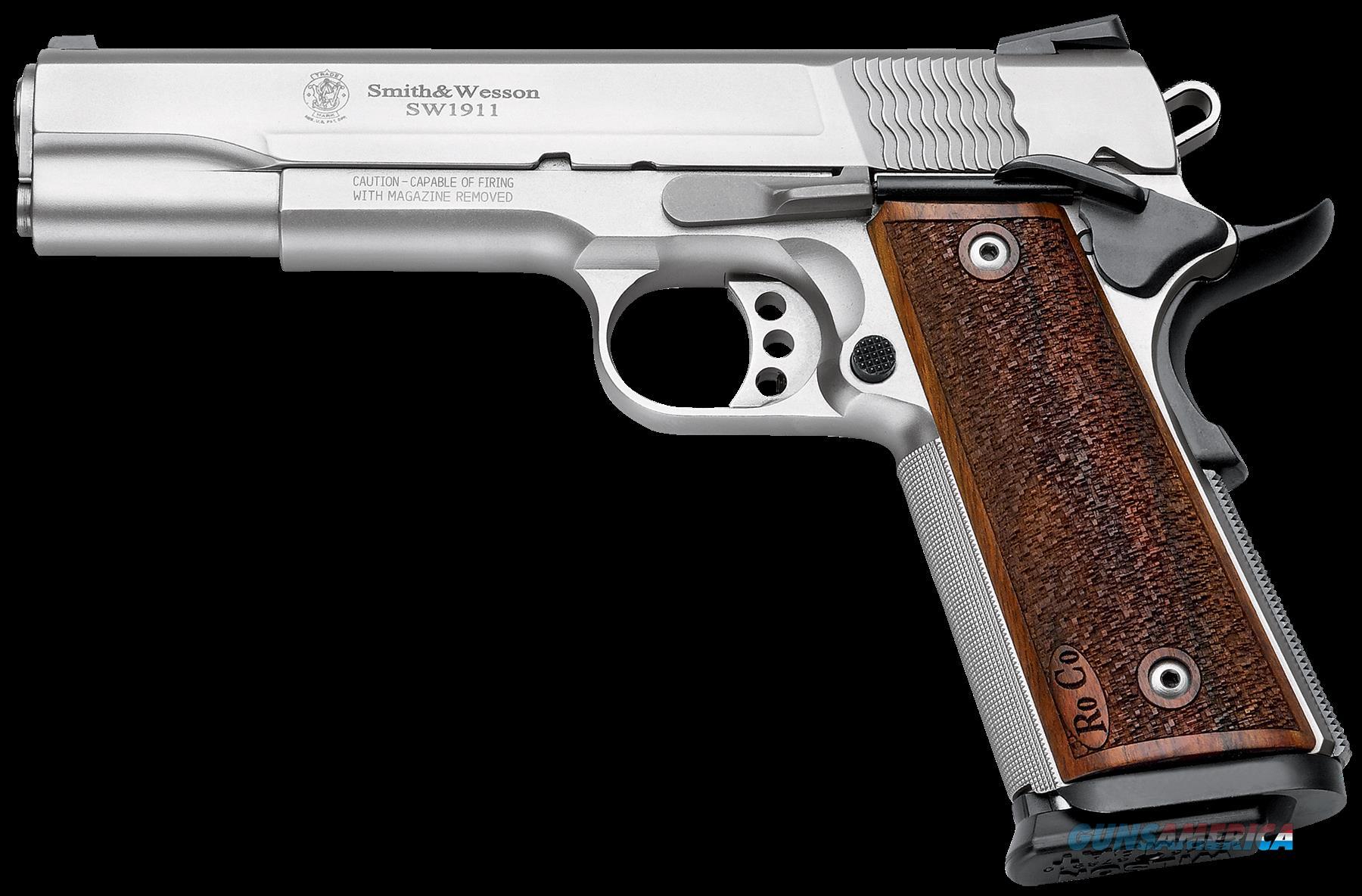 Smith & Wesson 1911, S&w M1911     178017 Pro 9m  5 As Dot Ss  Guns > Pistols > 1911 Pistol Copies (non-Colt)