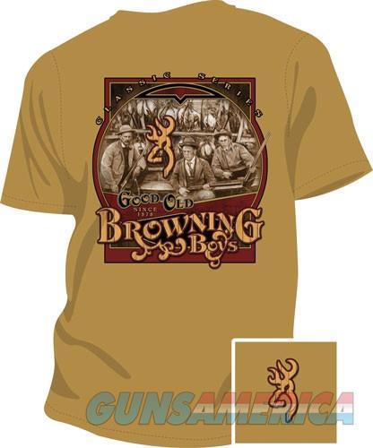 Bg Men's T-shirt Good Old Boys - Small Gold W-bg Logo<  Guns > Pistols > 1911 Pistol Copies (non-Colt)