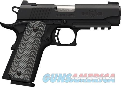 Browning 1911-380 Bl Pro Cmprl,nite,380  Guns > Pistols > 1911 Pistol Copies (non-Colt)