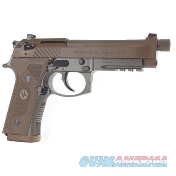Beretta M9a3 Fde, Type F 9 Mm 10 Rds Fde  Guns > Pistols > 1911 Pistol Copies (non-Colt)