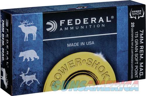 Federal Power-shok, Fed 7rb        7mmmg  175 Sp             20-10  Guns > Pistols > 1911 Pistol Copies (non-Colt)