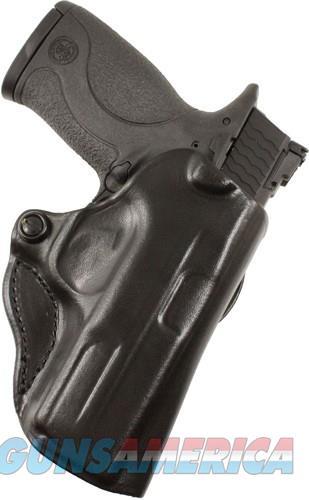 Desantis Mini Scabbard Holster - Rh Owb Leather Glock 42 Black  Guns > Pistols > 1911 Pistol Copies (non-Colt)