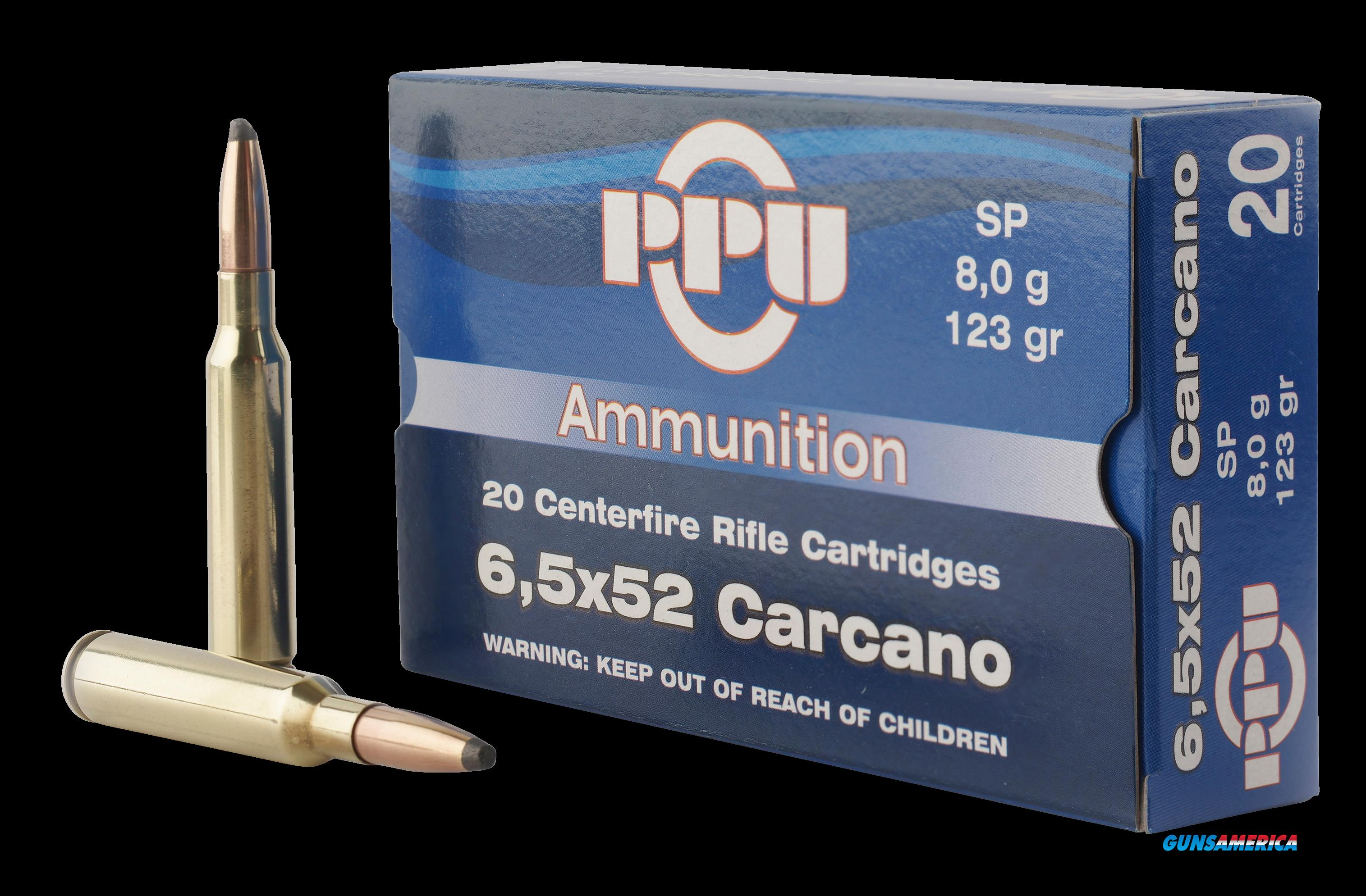 Ppu Metric Rifle, Ppu Pp6cs       6.5x52 Crcn 123 Sp           20-10  Guns > Pistols > 1911 Pistol Copies (non-Colt)