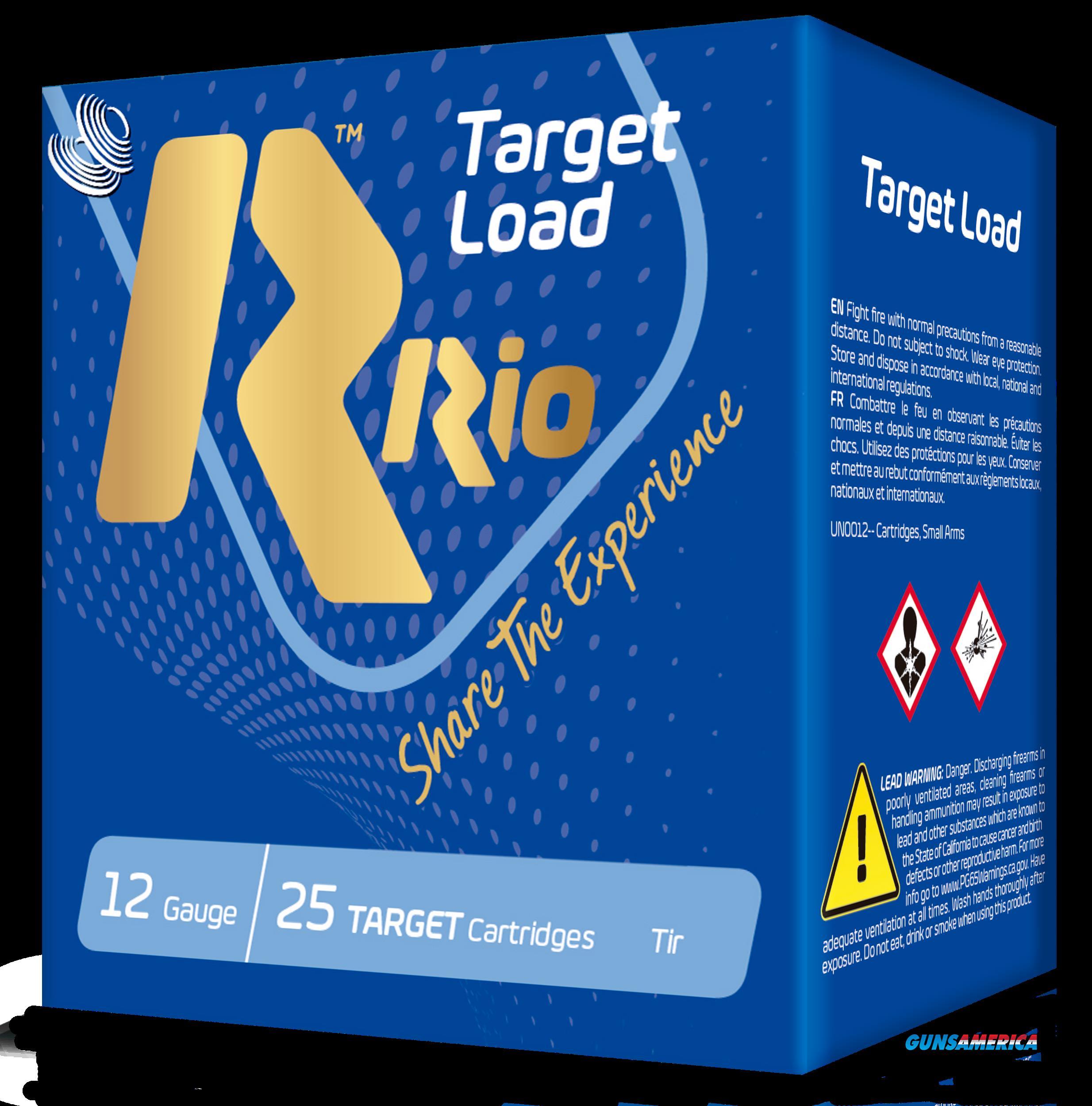 Rio Ammunition Target Load, Rio Tlt3275    12 2.75 Hc  11-8oz Trgt Trp   25-10  Guns > Pistols > 1911 Pistol Copies (non-Colt)