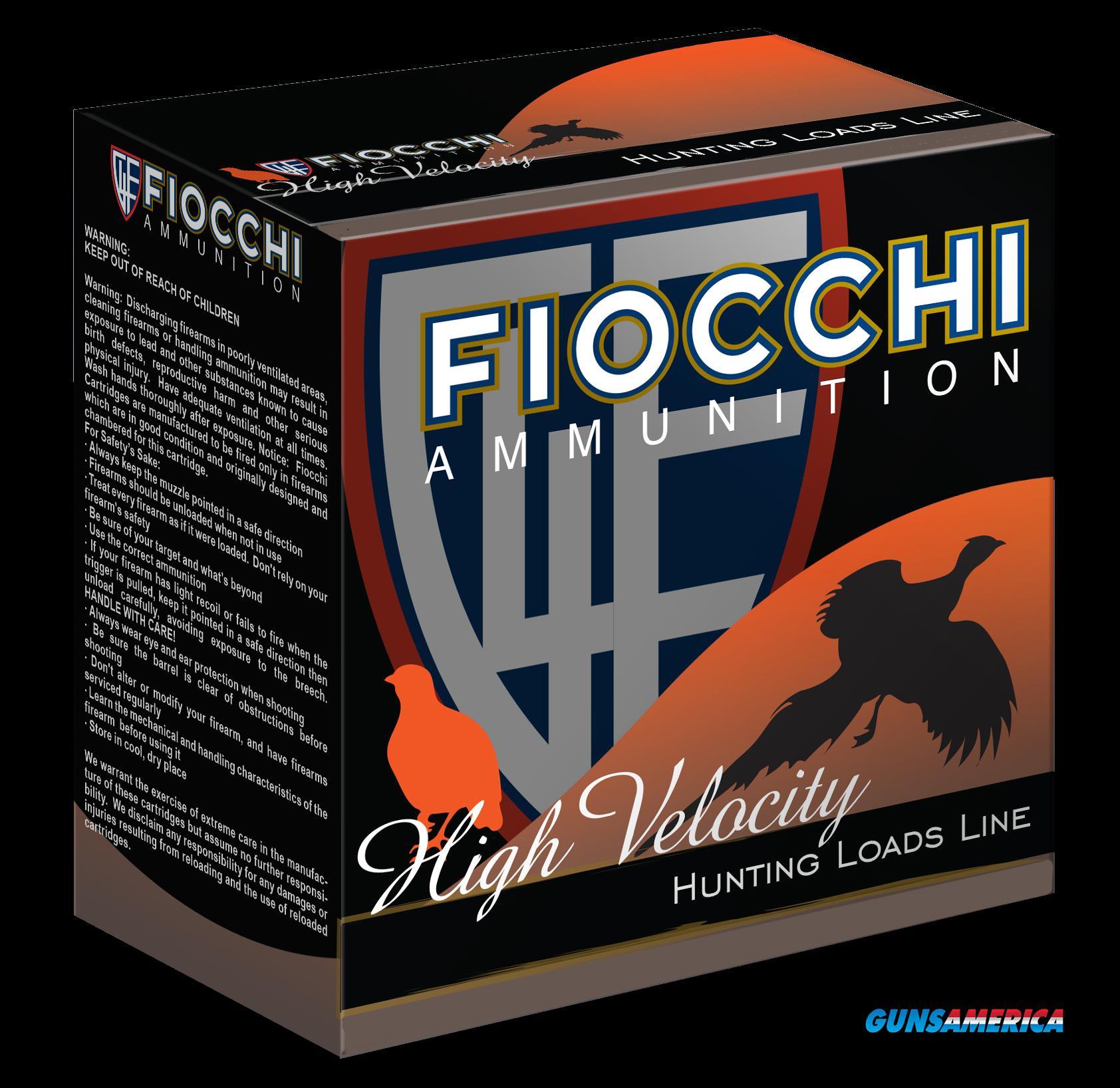 Fiocchi Shooting Dynamics, Fio 20hv75    High Vel      1oz   25-10  Guns > Pistols > 1911 Pistol Copies (non-Colt)