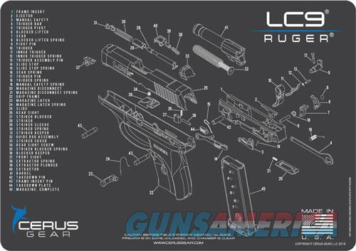 Cerus Gear 3mm Promats 12x17 - Ruger Lc9 Schematic Char Grey!  Guns > Pistols > 1911 Pistol Copies (non-Colt)