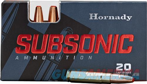 Hornady Subsonic, Horn 80809 Subsonic 3030 175 Sub-x           20-10  Guns > Pistols > 1911 Pistol Copies (non-Colt)