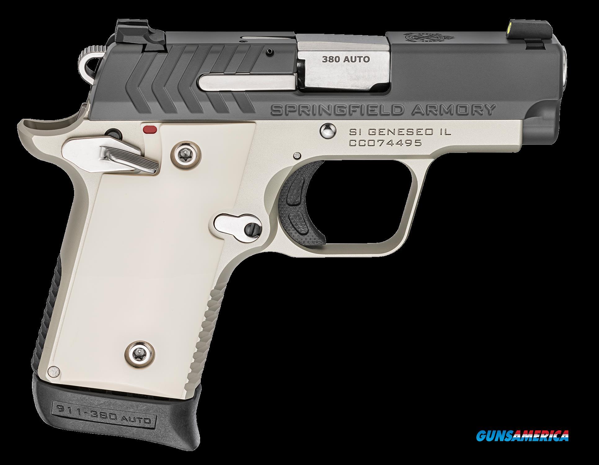 Springfield Armory 911, Spg Pg9109pg      380 911 2.7 Platinum Grph  6-7r  Guns > Pistols > 1911 Pistol Copies (non-Colt)