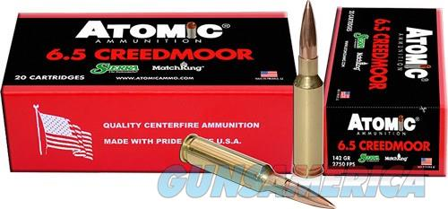 Atomic Ammo 6.5 Creedmoor - Match 142gr. Sierra Smk 20-pk  Guns > Pistols > 1911 Pistol Copies (non-Colt)