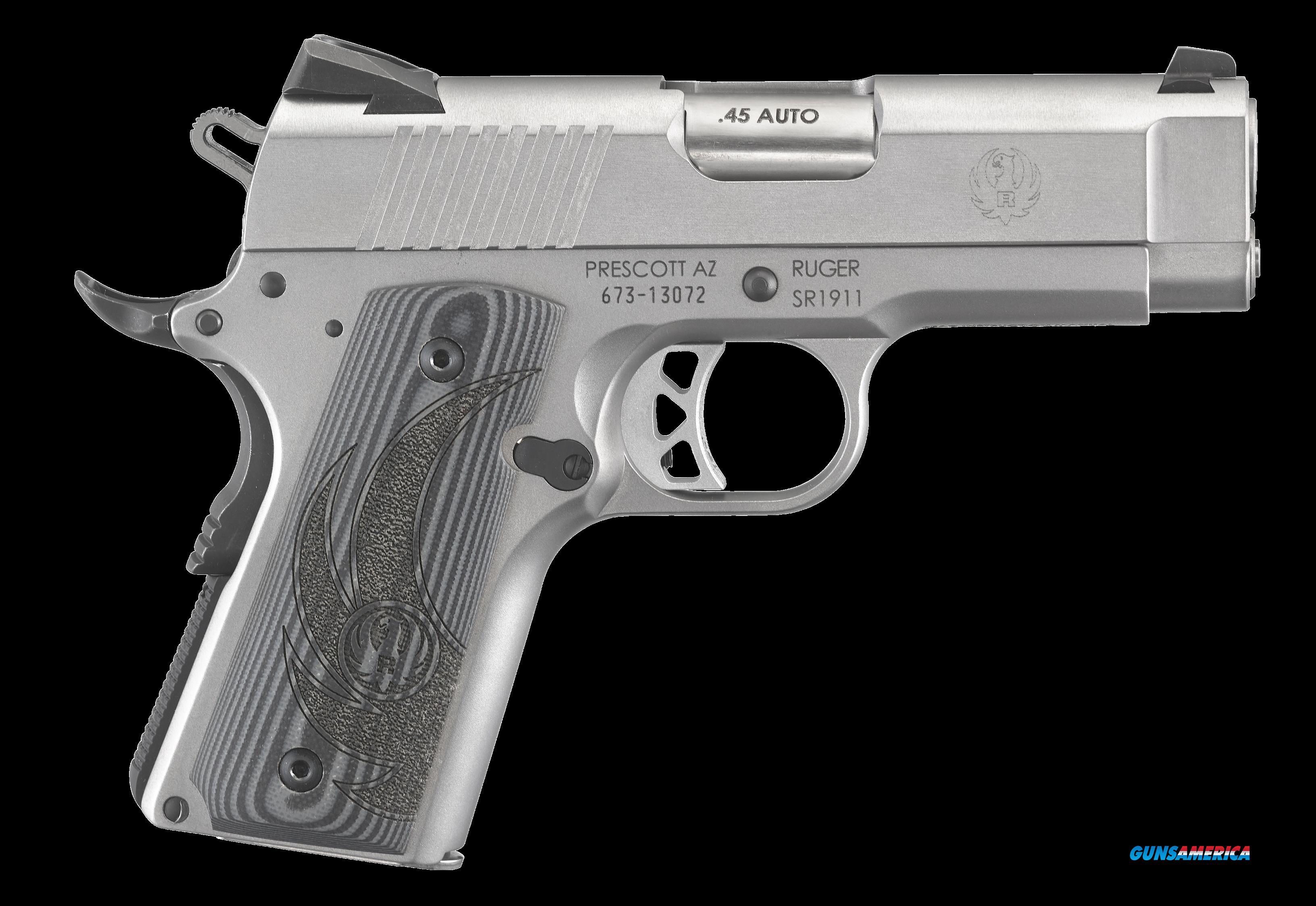 Ruger Sr1911, Rug 6762  Sr1911    45  3.6 3d      Ss         7r  Guns > Pistols > 1911 Pistol Copies (non-Colt)