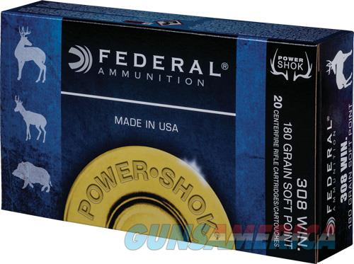 Federal Power-shok, Fed 308b       308    180 Sp             20-10  Guns > Pistols > 1911 Pistol Copies (non-Colt)