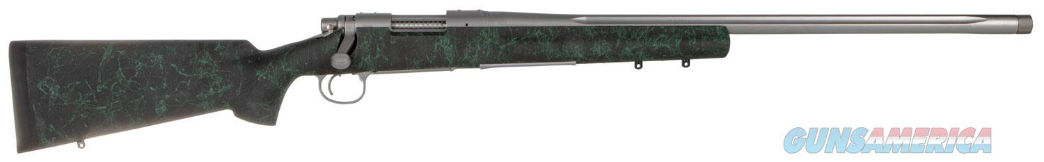 "Remington Firearms 85194 700 5-R Gen 2 Bolt 6.5 Creedmoor 24"" 4+1 Synthetic HS Precision Black w/Green Web Stk Stainless Steel  Guns > Rifles > Remington Rifles - Modern > Bolt Action Non-Model 700 > Sporting"