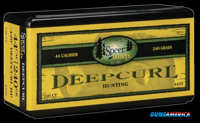 Speer Bullets Deepcurl, Speer 4455 Bull .429 240 Dchp       50  Guns > Pistols > 1911 Pistol Copies (non-Colt)