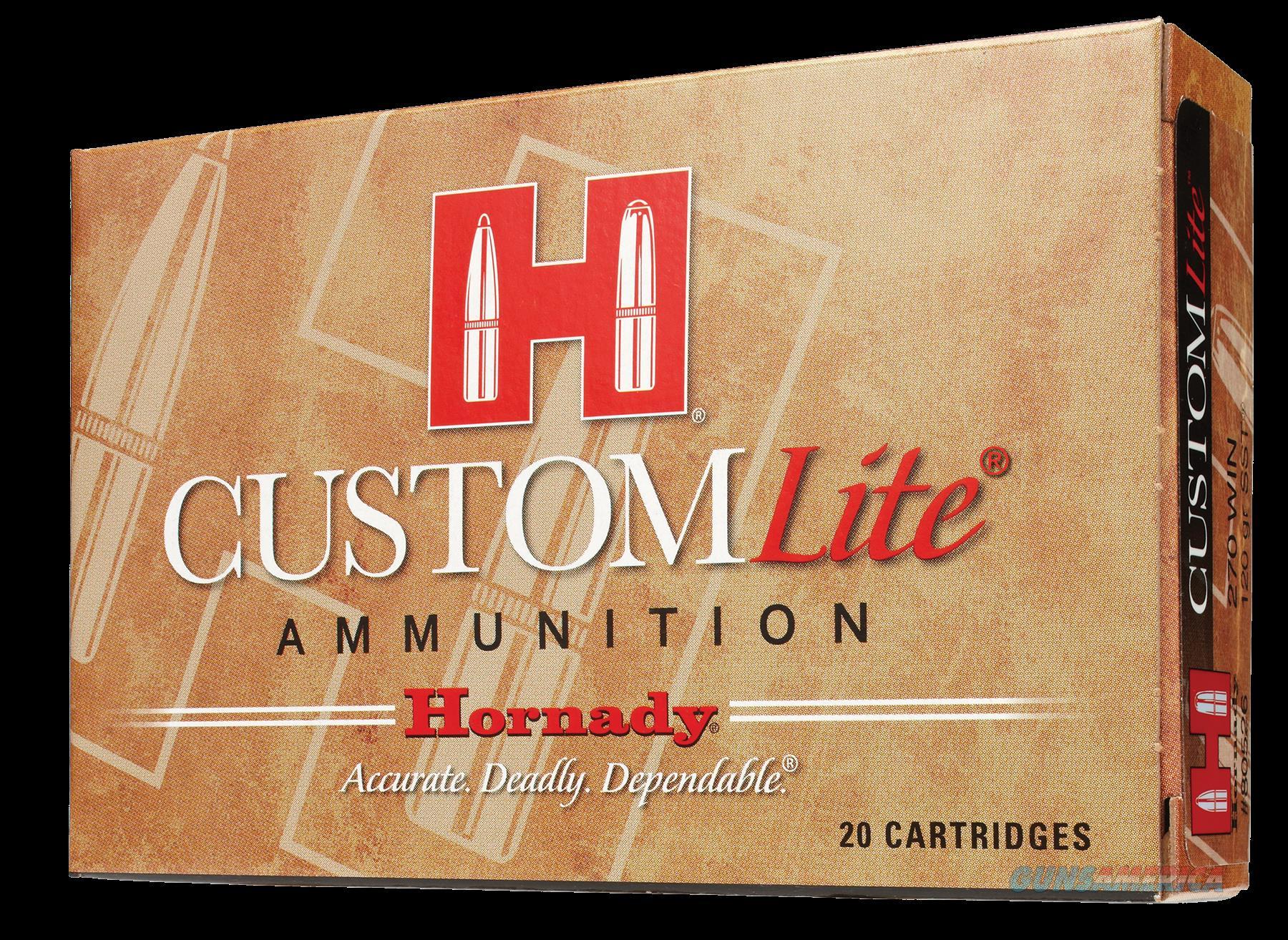 Hornady Custom Lite, Horn 80572 Lite 7mm08  120 Sst   20-10  Guns > Pistols > 1911 Pistol Copies (non-Colt)