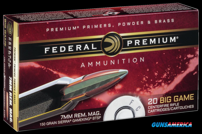 Federal Premium, Fed P7rd       7mm Mg 150 Btsp           20-10  Guns > Pistols > 1911 Pistol Copies (non-Colt)