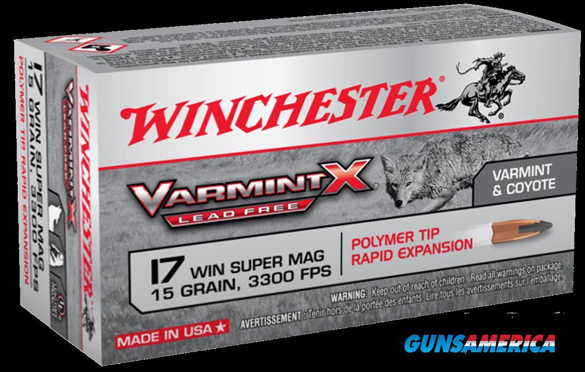 Winchester Ammo Varmint X, Win X17w15plf  17win Supmag 15 Pt 50-10  Guns > Pistols > 1911 Pistol Copies (non-Colt)