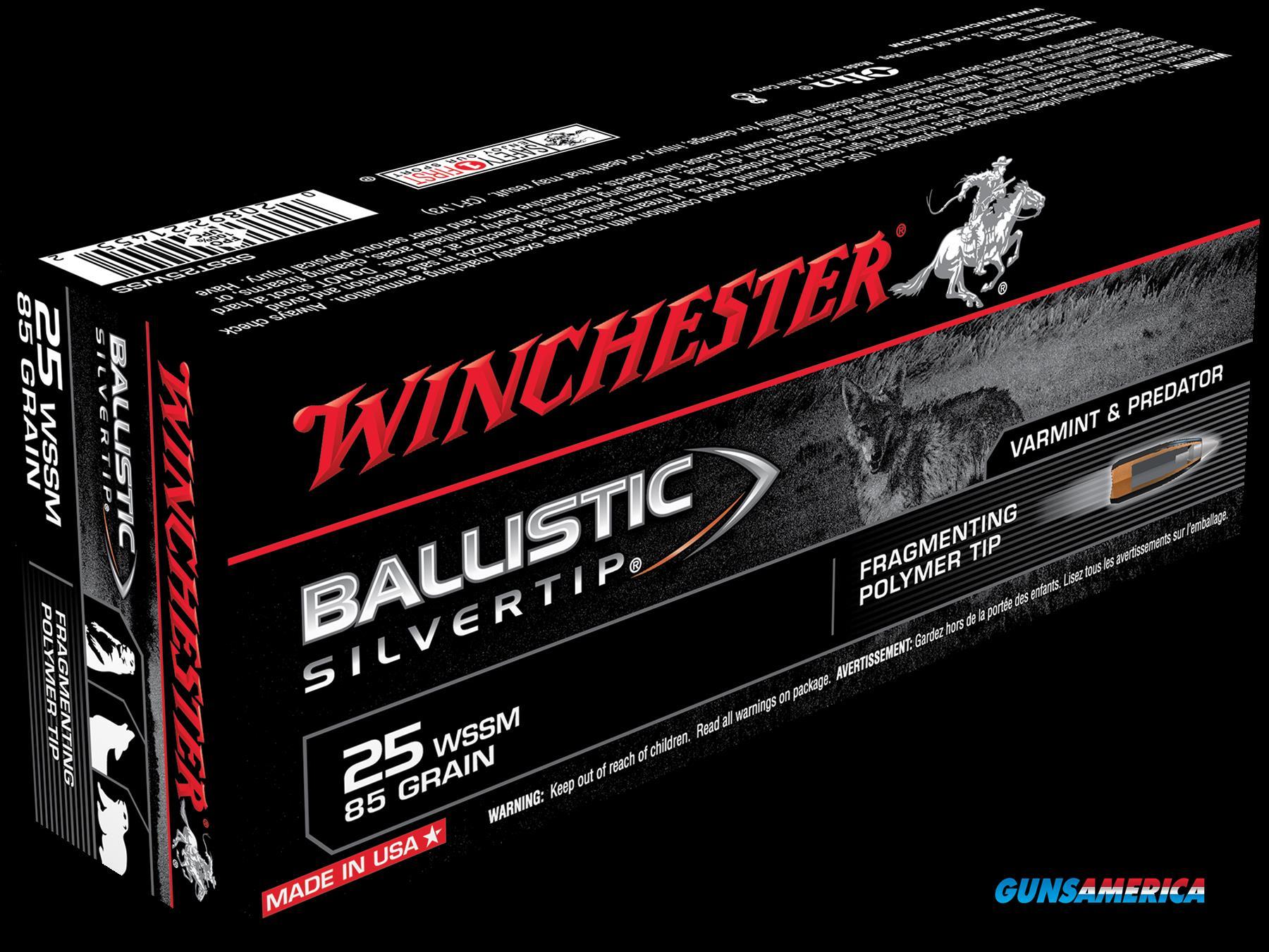 Winchester Ammo Supreme, Win Sbst25wss     25wssm  85blst 20-10  Guns > Pistols > 1911 Pistol Copies (non-Colt)