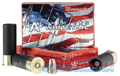 Hornady American Whitetail 12 Ga 325gr Interlock Slug 5-bx  Guns > Pistols > 1911 Pistol Copies (non-Colt)