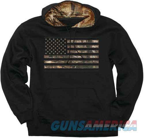 Buck Wear Hoodie Camo Stars & - Stripes Black Large  Guns > Pistols > 1911 Pistol Copies (non-Colt)