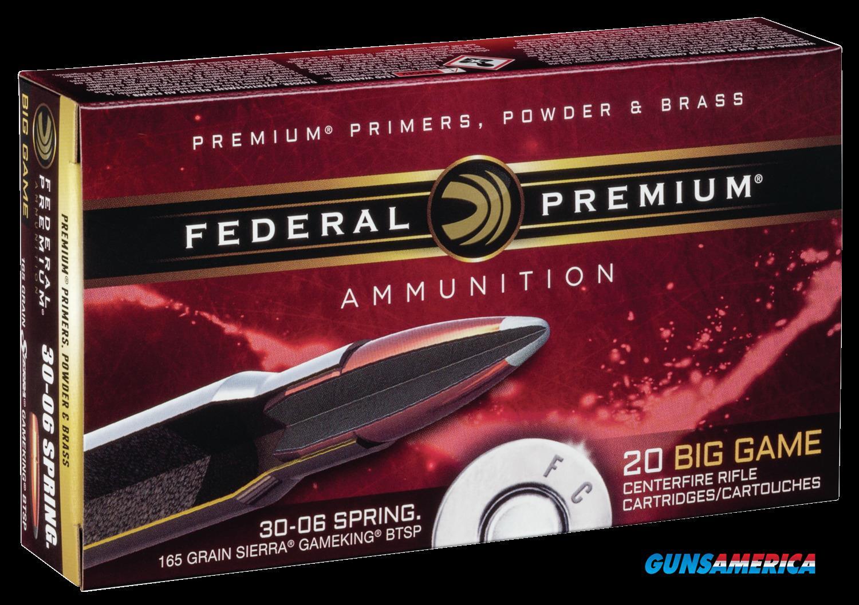 Federal Premium, Fed P3006d     3006   165 Btsp           20-10  Guns > Pistols > 1911 Pistol Copies (non-Colt)