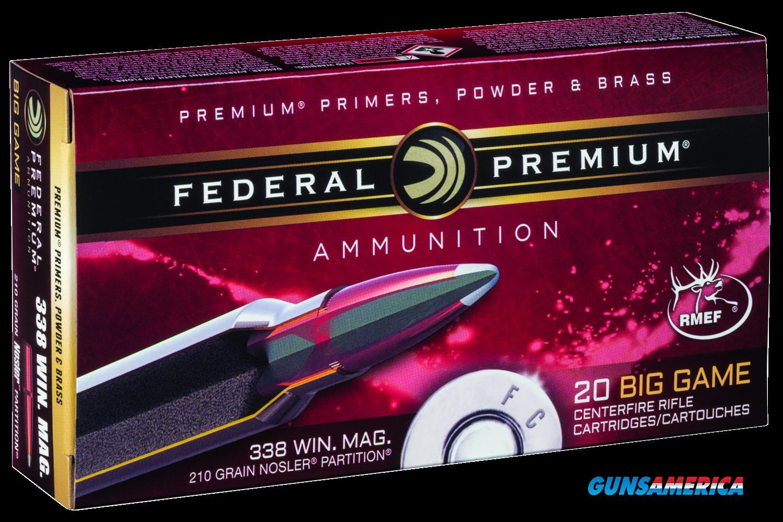 Federal Premium, Fed P338a2     338    210 Np             20-10  Guns > Pistols > 1911 Pistol Copies (non-Colt)